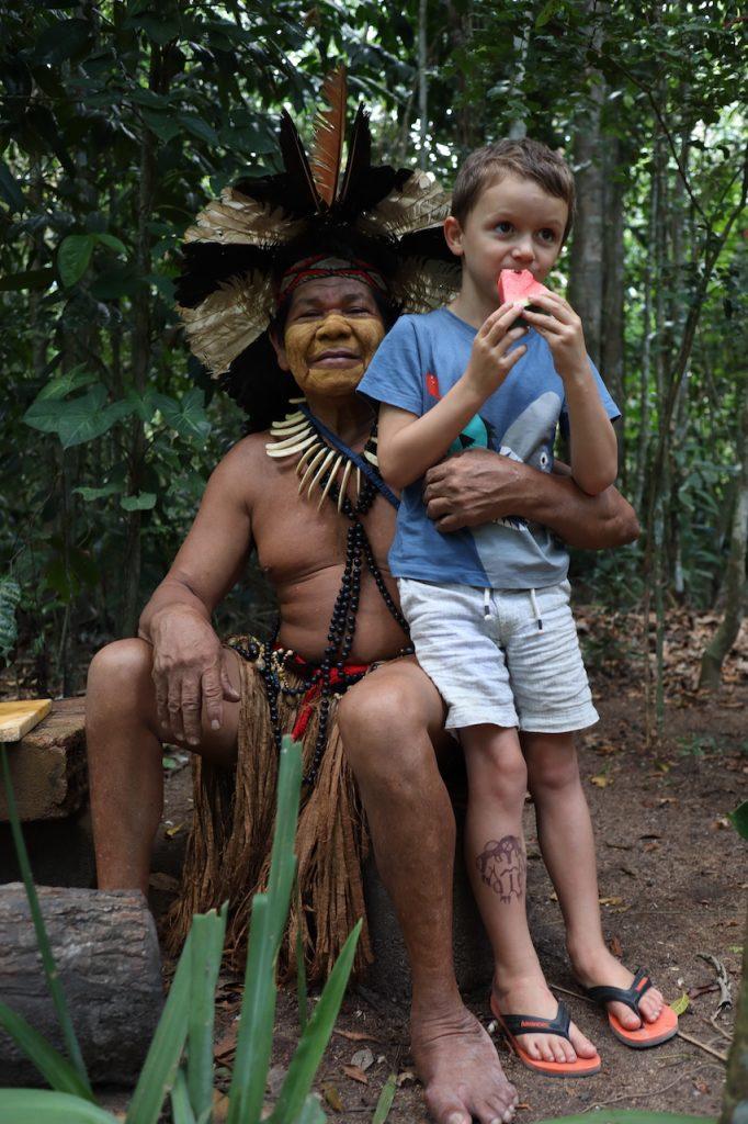 Pajé tribo indígena